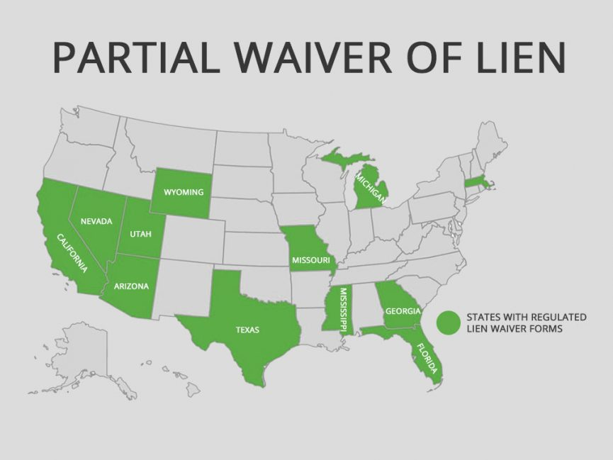 partial waiver of lien